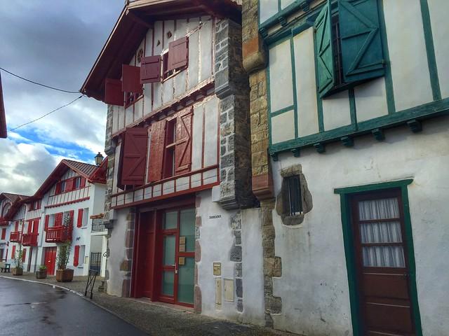 Foto de Espelette (Ezpeleta) en el País Vasco francés