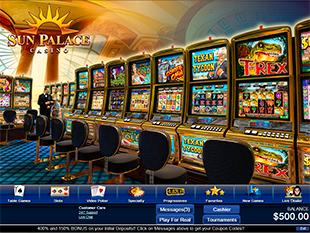 Sun Palace Casino Lobby