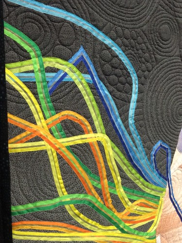 "close up of ""Fancy Shawl Dancer"" by Linda C. Anderson of La Mesa, CA"