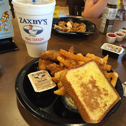72:365 On this road trip we've stopped at Raising Cane's and Zaxby's - just need to stop at Chick-fil-A and we'll hit the southern chicken trifecta.