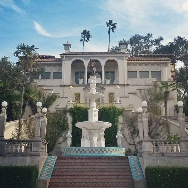 Hearst Castle, highway 1, Kalifornia