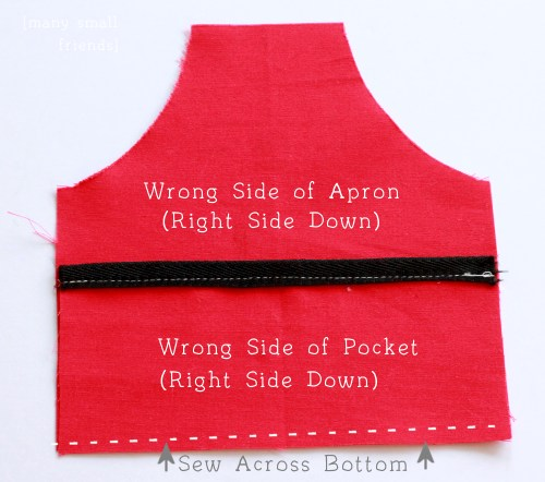 Patisserie Apron Tutorial