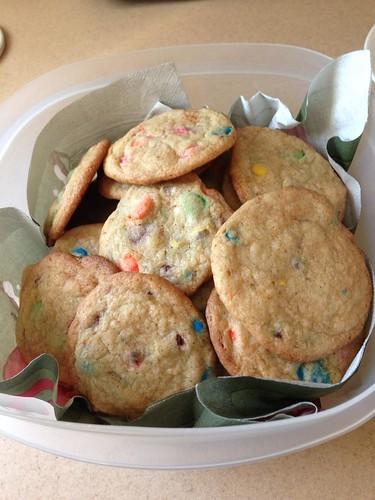 Fresh batch of homemade cookies