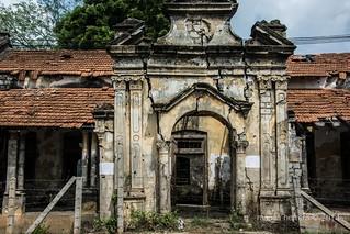 Jaffna .Ruins of war
