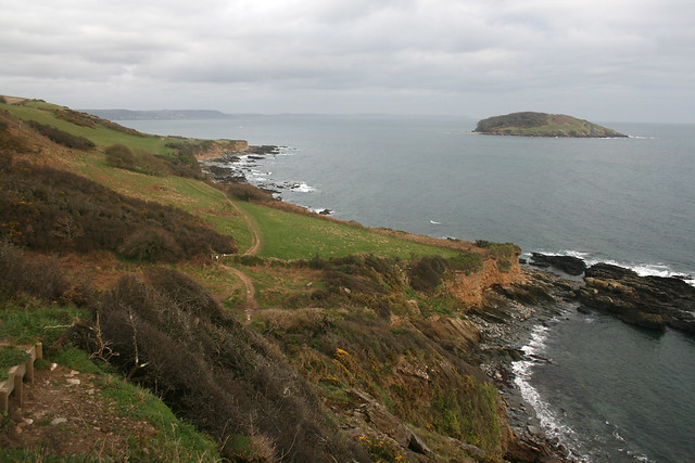 Portnadler Bay and Looe Island