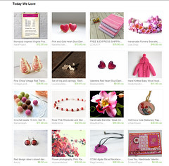 Etsy Treasury Valentine's Day