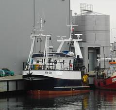 Fischkutter KOŁ-288 im Hafen von Kolobrzeg