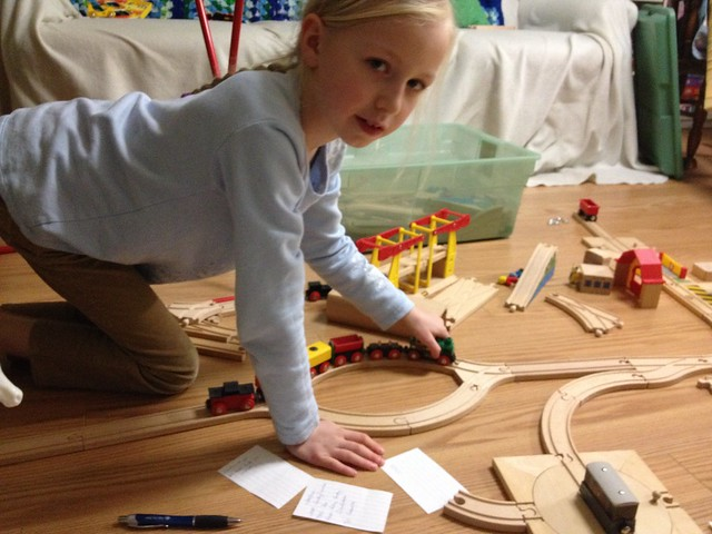 Paperwork and Brio!