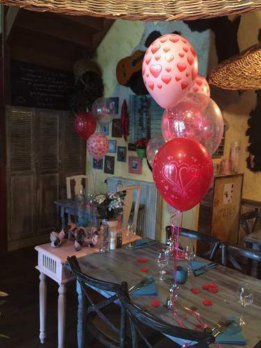 Tafeldecoratie 3ballonnen Maxima Dos Spijkenisse