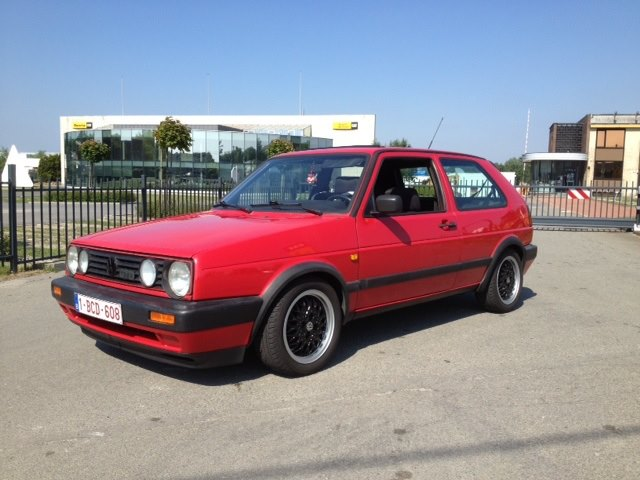 1991 golf mk2 gtd intercooler t red. Black Bedroom Furniture Sets. Home Design Ideas