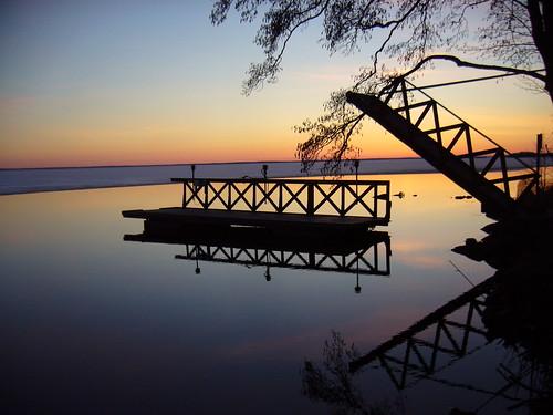 sunset reflection st finland geotagged april fin 201104 2011 säkylä pyhäjärvi satakunta pihlava 20110423 geo:lat=6103733900 geo:lon=2233271600