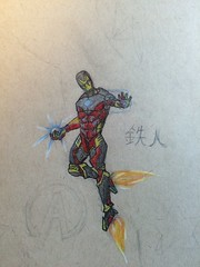 Iron Man (colored)