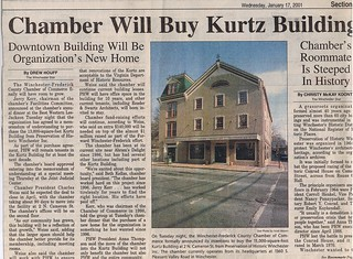 Chamber Will Buy Kurtz Building