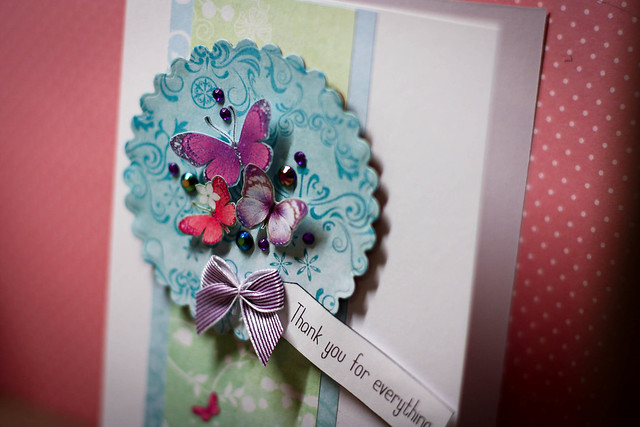 Free butterfly download papers - Butterfly download card close up by StickerKitten