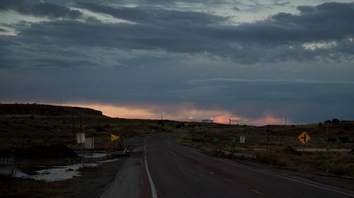 sunset newmexico unitedstates crownpoint