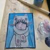 Progress #art #painting #perth #acrylic #aceo