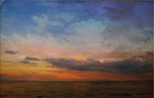 Colori del tramonto.
