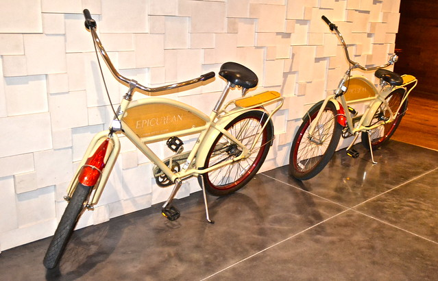 epicurean hotel - bikes