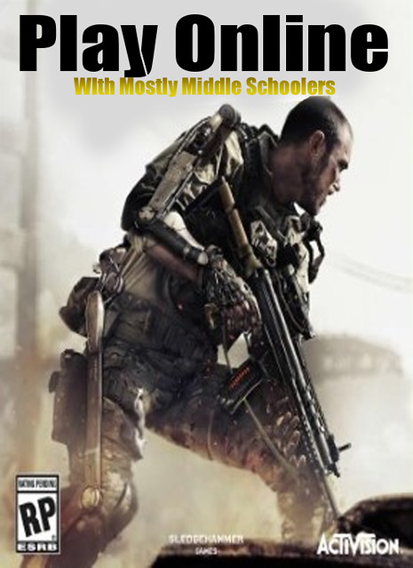 callofduty play with middle schoolers