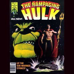 The Rampaging Hulk, today at www.LongboxGraveyard.com. #Hulk #Comics @theantifascist