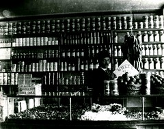 Interior of B. G. Perry's West India Store