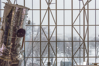 Hubble Space Telescope Keeping an 'Eye' on the DC Snowstorm