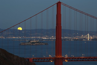 Moonrise San Francisco Bay