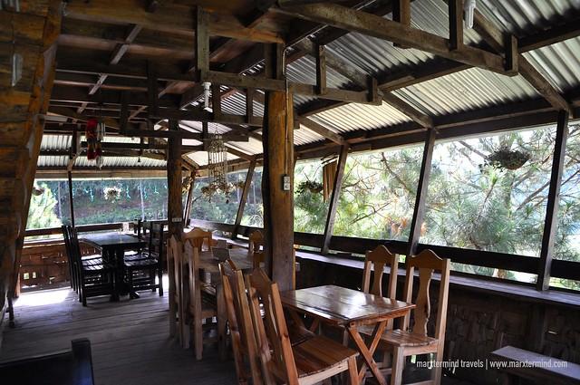 Gaia Café & Crafts Sagada Restaurant Area
