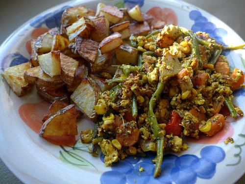 2015-03-12 - Potatoes & Tofu Scramble - 0001 [flickr]