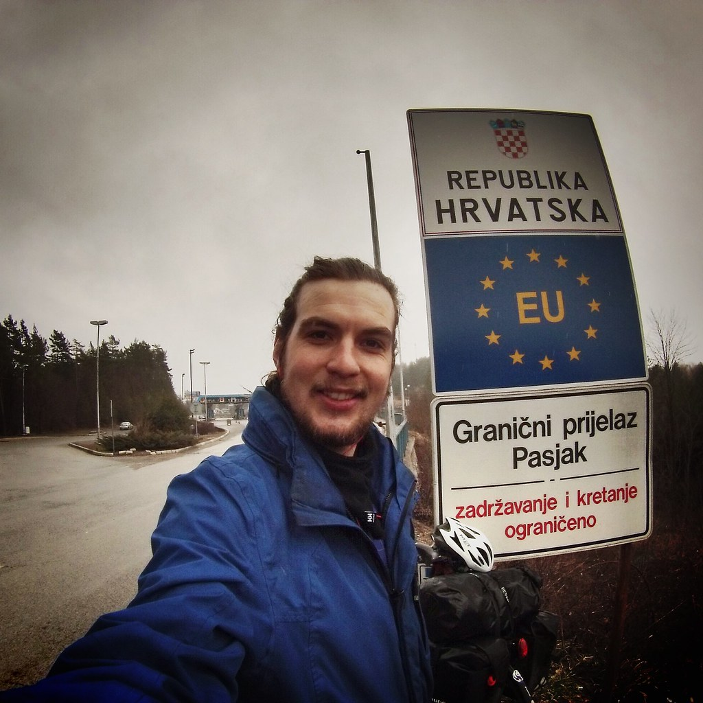 Border Croatia #r2s #cycling #croatia #adventure #easterneurope