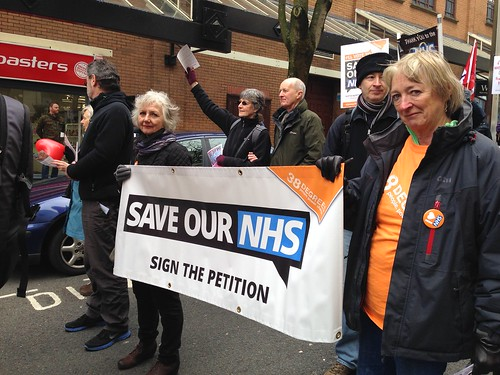 Bristol People's March for the NHS