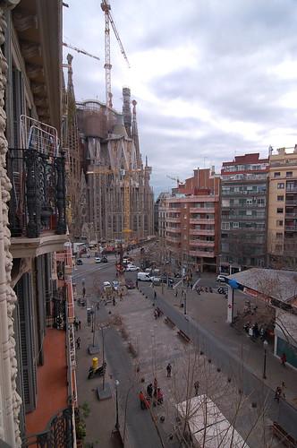 Gaudi Sagrada Familia, Barcelona, Spain