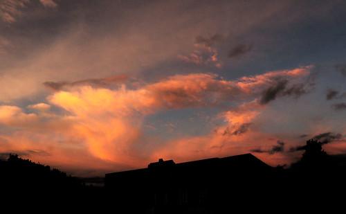 sunset atardecer ecuador skies chimborazo guamote