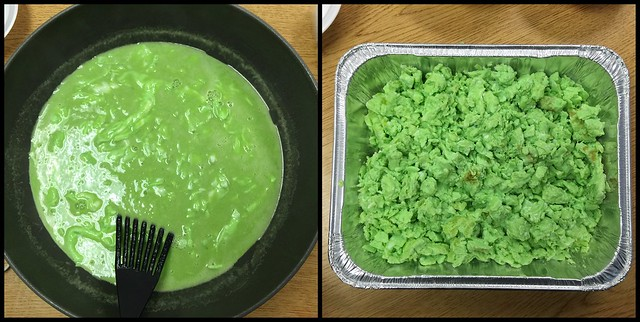 Green Eggs - before and after