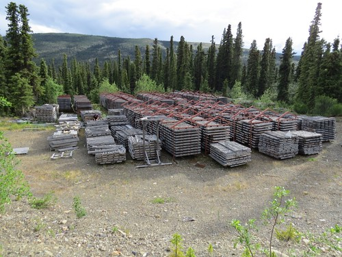 Drill Core Graveyard
