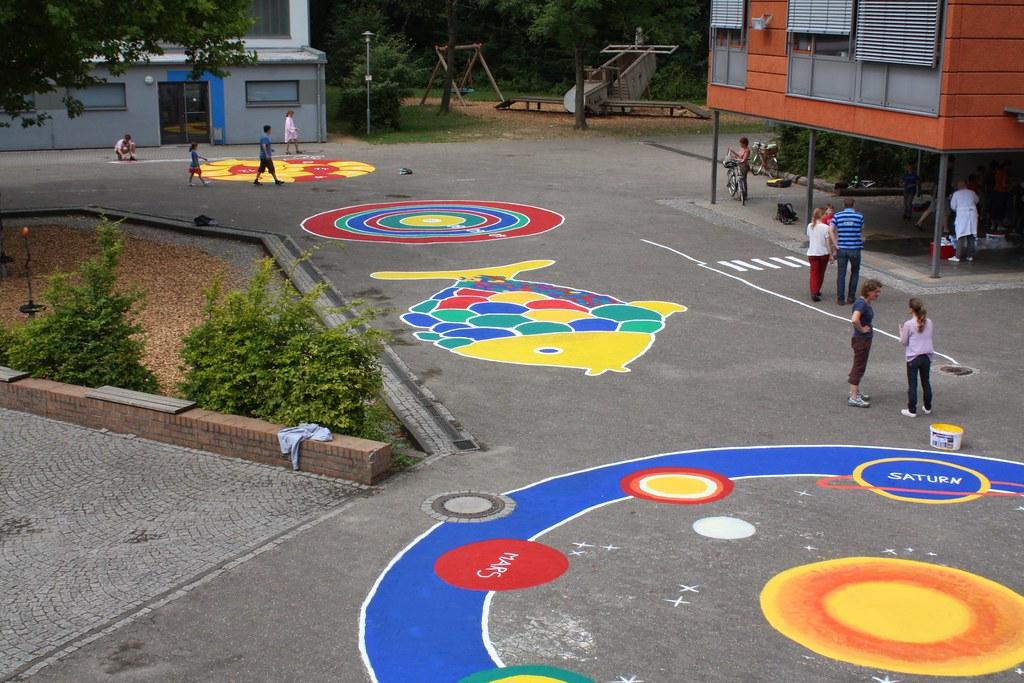 2014 - Schulhofgestaltung