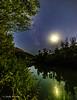 Moon, milky way & perseid