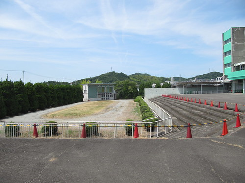 姫路競馬場のパドック