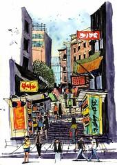 Hong Kong Ladder Street