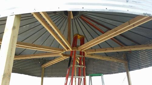 Iowa Man Transforms Grain Bin Into Binzebo Agweb Com