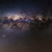 Milky Way through the Airglow - 50mm Panorama by inefekt69