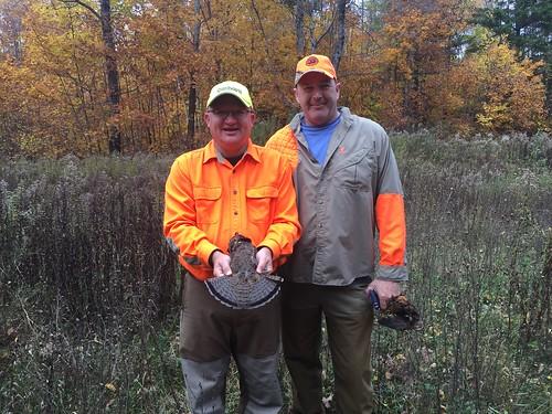 grouse woodcock hunting michigan ryan bob