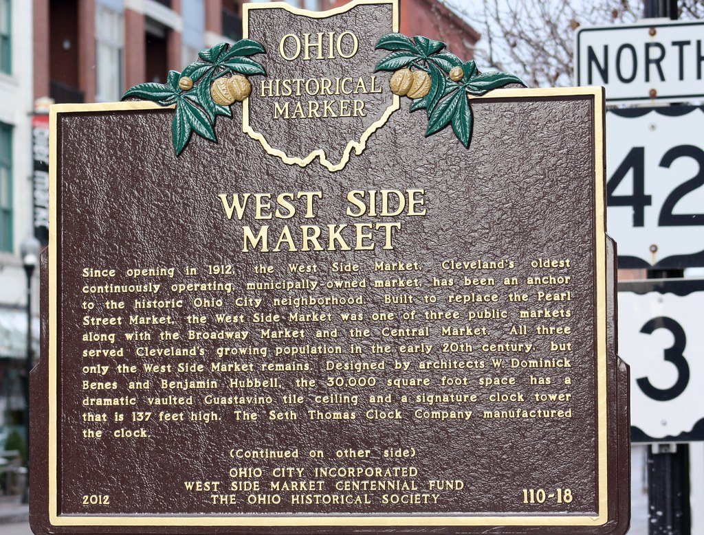 West Side Market Sign