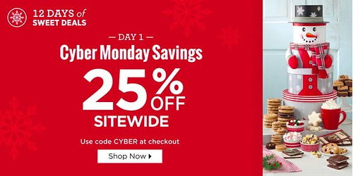 Mrs. Fields Cyber Monday