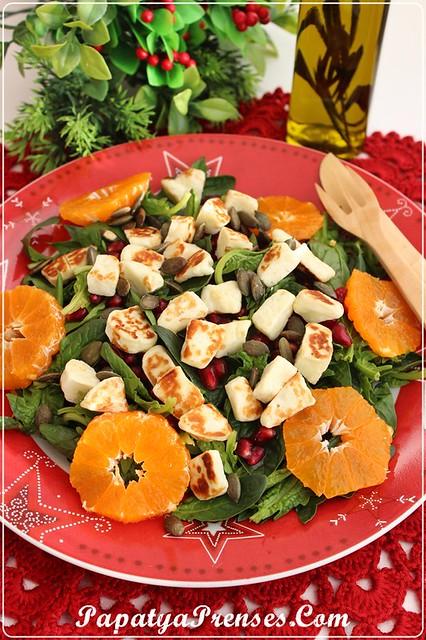 ıspanak salatası 008