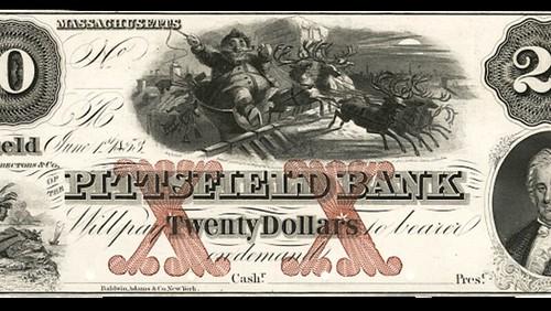 Santa Claus banknote