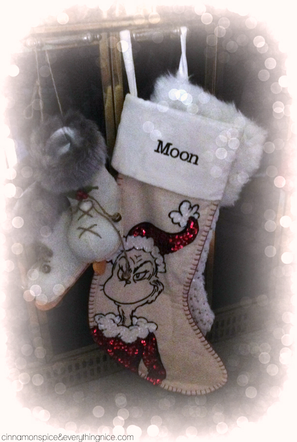 Moon's Stocking is Hung