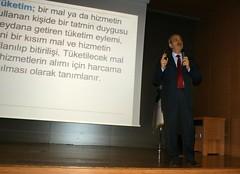 Değerlerin Erozyonu ve Tüketim Harcamaları Konferansı gerçekleştirildi.