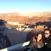 At the Hoover Dam.  900 feet above the ground!