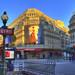 Sunrise... Rue La Fayette, Paris France...